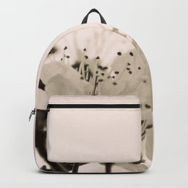 Blossoms Monochrome Backpack
