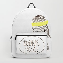 work out! Backpack