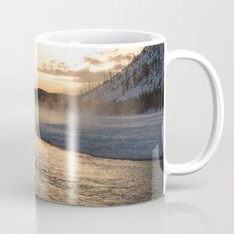 Yellowstone National Park - Sunrise along the Madison River Coffee Mug