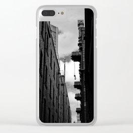 Melbourne Lanes Clear iPhone Case