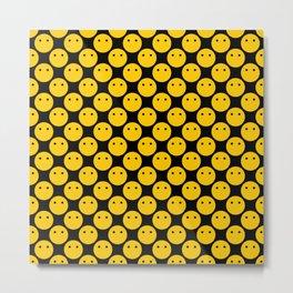 Voiceless: Pattern Metal Print