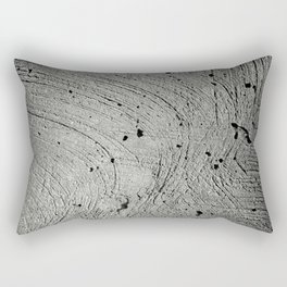 Holes in the cement surface Rectangular Pillow