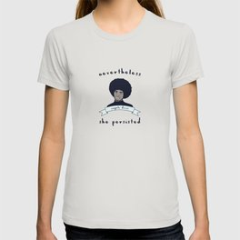 Nevertheless, Angela Davis Persisted T-shirt