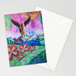 Planet of The Pegasus Stationery Cards