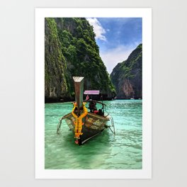 Boats of Thailand Art Print