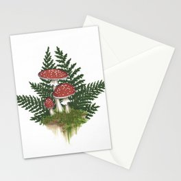 Woodland Mushrooms - Fly Agaric Stationery Cards