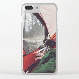 Cheoah Bald •Appalachian Trail Clear iPhone Case
