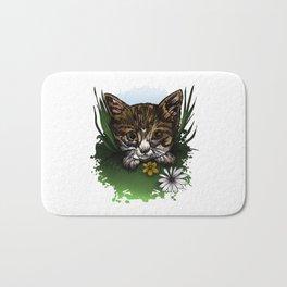 Calico Kitty Bath Mat