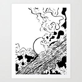 Space Swamp Kunstdrucke