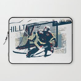 Goalie - Ice Hockey Player Laptop Sleeve
