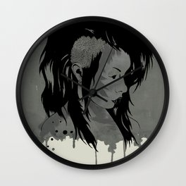 Punk is Dead Wall Clock