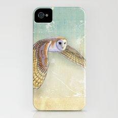 Barn Owl Labyrinth Slim Case iPhone (4, 4s)