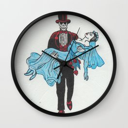 ZOMBIE HONEYMOON - 1950'S PRE-CODE HORROR Wall Clock