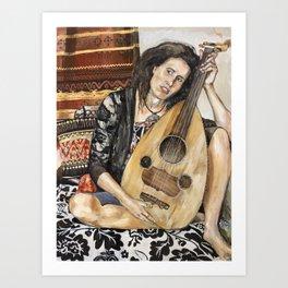 A Song of David Art Print
