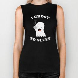 I Ghost To Sleep Biker Tank