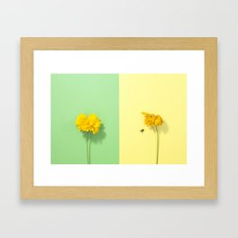 Time. Framed Art Print