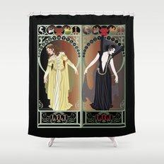Legend Nouveau - Mirrored Shower Curtain