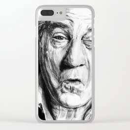 Squint Clear iPhone Case