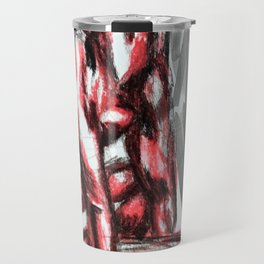 Wrapped with each other Travel Mug