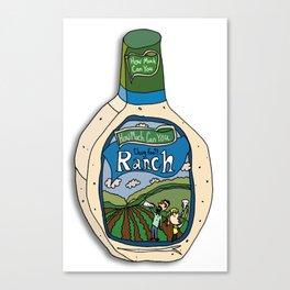 Hidden Valley Original Ranch Dressing Canvas Print