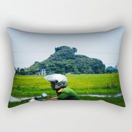 Ninh Binh Soldier Rectangular Pillow