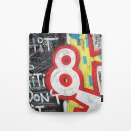 eight 8 Tote Bag