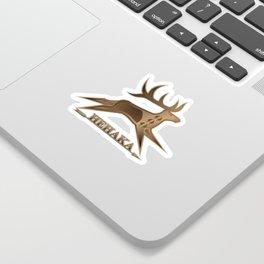 Elk Spirit (Brown) Sticker