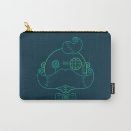 Old Fashioned Robot Carry-All Pouch