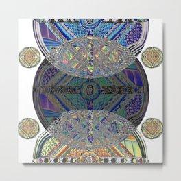 Mandala 2 Variation Metal Print