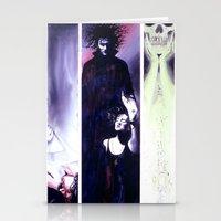 sandman Stationery Cards featuring Sandman: Triptych by kenmeyerjr