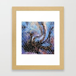 The Winter Storm... Framed Art Print