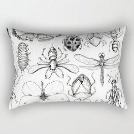 Insect Study Rectangular Pillow
