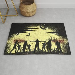 Zombie Shooter Rug
