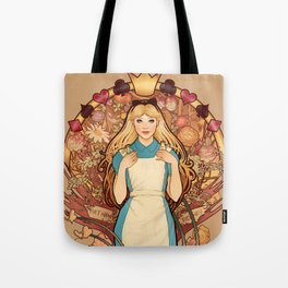 Curious and Curiouser Tote Bag