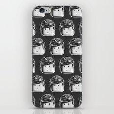 Minifigure Pattern - Dark Grey iPhone & iPod Skin