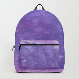 Ube abstract watercolor Backpack