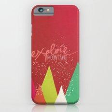 Explore Mountains iPhone 6s Slim Case