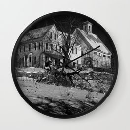 Ghost House Wall Clock
