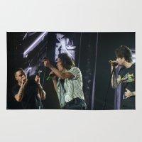 zayn malik Area & Throw Rugs featuring Harry Styles.Liam Payne.Zayn Malik by Halle
