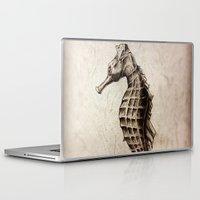 seahorse Laptop & iPad Skins featuring Seahorse by Werk of Art