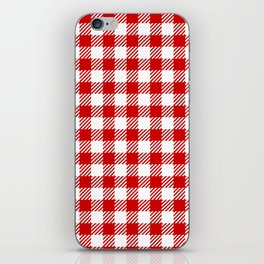 Red Vichy iPhone Skin