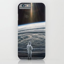 Looking back at earth ... iPhone Case
