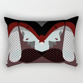 A red-haired woman - Abstrac42 Rectangular Pillow