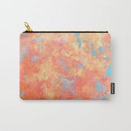 Summer Rain - Original Abstract Art by Vinn Wong Carry-All Pouch