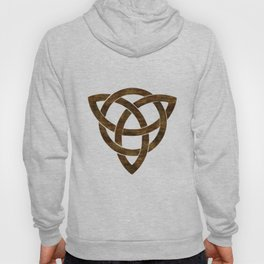 Wooden Celtic Knot Hoody