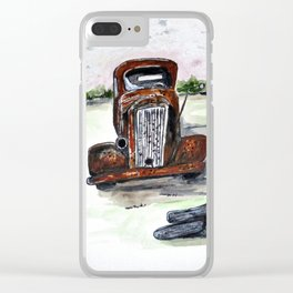 Former Bootlegger Clear iPhone Case