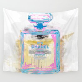 Perfume Bottle Wall Tapestry