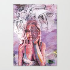 you, me and whatever Canvas Print