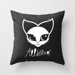 ALLKATZE * Space Cat - Weltraum-Katze - Chat d'Espace Throw Pillow