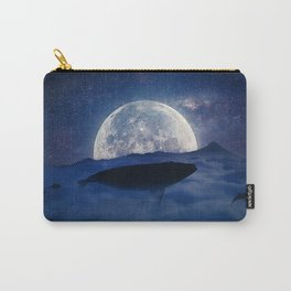 flying night whale Carry-All Pouch